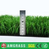 サッカーのための人工的なフットボールの草に床を張るSの形のスポーツ