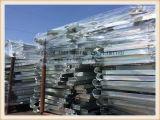 Parentesi del lato dell'armatura placcate zinco