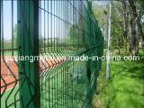 Barrière de treillis métallique de PVC Caoted