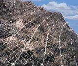 2015 고품질 강철 사면 보호 그물에 의하여 구르는 케이블 그물