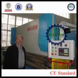 Placa de metal de WC67K que processa a máquina de dobra de DELEM DA56 de ABRIGO Companhia