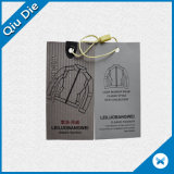 Nouveau style Custom Cheap Imprimé Hang Tags for Garment