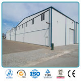 Constructions claires préfabriquées d'entrepôt de tissu d'envergure