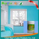 Peinture acrylique blanche d'émulsion de mur intérieur de fabrication d'usine
