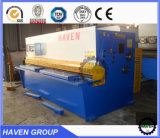 QC12K-6X6000 CNC Hidráulica Swing Beam Shearing and Cutting Machine