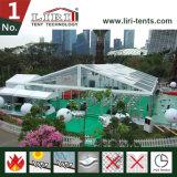 Linda 20 * 25 Transparente tenda ao ar livre para eventos e Festa de Casamento
