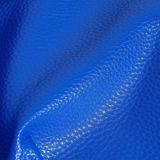 Het Synthetische Leer van de Korrel Pu van de Kiezelsteen van de lage Prijs voor Dame Bags, Handtassen, Schoenen