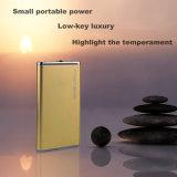 Li-Polímero Powerbank de la caja del metal 5600mAh para todo el teléfono
