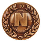 透過柔らかいエナメルが付いている金属の記念品の硬貨