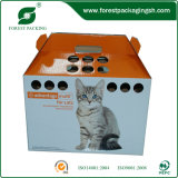 Rectcled fait sur commande Pet Packing Box avec Handle