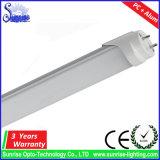 100lm/W 120cm T8 18W LED 관 형광 조명