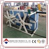 PE/PVC 압출기 기계를 만드는 플라스틱 물결 모양 관 밀어남