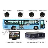 Escuela de DVR móvil autobús con la tarjeta Mini SD GPS portátil de la seguridad de WiFi