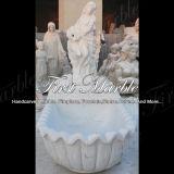 Baignoire blanche de Carrare pour la décoration à la maison Mbm-1021