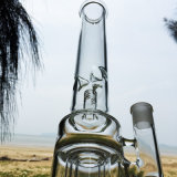 Drei Layers von Fegefeuer Design Glass Smoking Water Pipes (ES-GB-273)