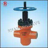 Válvula de porta lisa de alta pressão (ZF63Y)