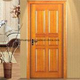 中国の良質MDFの木製のドアはPVCによって終わった