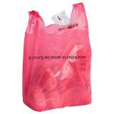 Polyshirt-Beutel-PlastikEinkaufstasche verwendet für Kettensystem