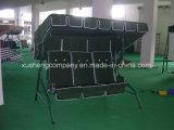 高品質のシンプルな設計3のSeaterの庭の振動椅子