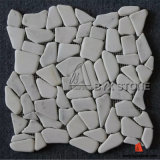 壁の装飾のための中国白の大理石のモザイク・タイル