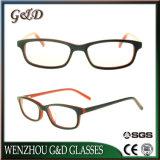Het klassieke Frame Sr6067 van de Glazen van het Oogglas van Eyewear van de Voorraad van de Acetaat In het groot Optische