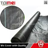 中国の工場供給のWeedの黒いおよび緑PPによって編まれるマット