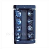 doppia riga indicatore luminoso di 8*10W RGBW LED del Pub della fase del ragno