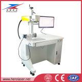 macchina della marcatura del laser della fibra di caso di iPhone del PVC di Plastis dell'anello del metallo di 20W 30W