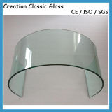 vetro temperato piegato radura di 3-19mm per gli occhiali di protezione