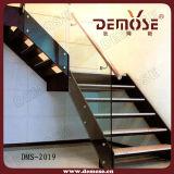 Крытая стальная стеклянная лестница (DMS-2001)