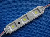Luz directa del módulo de la inyección 3LEDs LED de la fábrica para la muestra