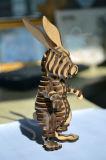 木製のジグソーパズルレーザーの打抜き機