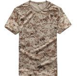 옥외 짧은 소매 Breathable 착용하 저항 기습대원은 위장 t-셔츠를 체중을 줄인다