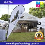 Durable Polyester Fin Flag Banner für Veranstaltungen im Freien