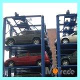 Système de stockage intelligent de stationnement de voiture de quarte de poste de la portance quatre de vitesse