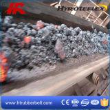 Fogo resistente da flama da mineração subterrânea - correia transportadora de borracha resistente