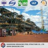 Struttura d'acciaio pesante solida del cavalletto per lo stabilimento chimico
