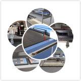 Machine de découpage de papier de sablage alimentante automatique de laser de tissu de PVC de CO2