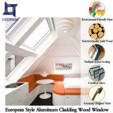 Indicador moderno da inclinação da forma espiritual original, indicador de alumínio da ruptura térmica da madeira de carvalho para a casa Energy-Saving