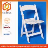 Silla de plegamiento completada blanca de la silla de la vanguardia de la resina de los PP