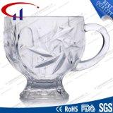 150ml Wholesale klar gravierte Glaskaffeetasse (CHM8176)