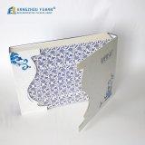特別な形のフロントカバーが付いている正方形の紙箱