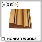 Placa de contorno de madeira material da decoração que molda para o projeto do hotel