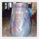Tampão de extremidade do tanque do redutor da cabeça do tanque de aço