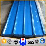 Порекомендованные гальванизированные листы толя цвета Coated Corrugated