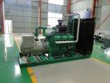 Da microplaqueta de madeira superior de China Lvhuan 150kw da qualidade dos geradores industriais cozimento de refrigeração água da central energética de Fow e do jogo de gerador do gás da biomassa da colheita mini