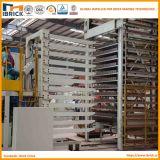 Dessiccateur à une seule couche de chambre de brique d'argile de système de séchage de brique