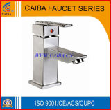 Steel inoxidável Water Basin Faucet em Brushed Nickel