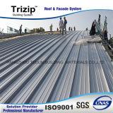 Panneaux de toit en aluminium de longue durée pour l'exportation