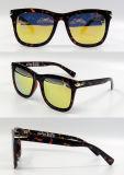 Gafas de sol plásticas de la manera del diseñador a estrenar para las mujeres/señora (DP1173YZ)